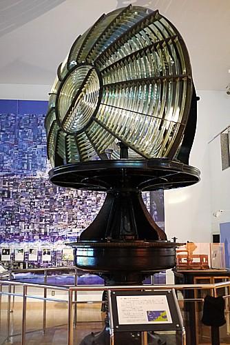 灯台の内部