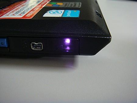 パソコンの赤外線通信