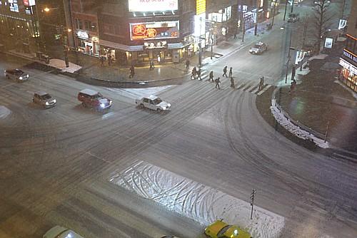 札幌最後の夜