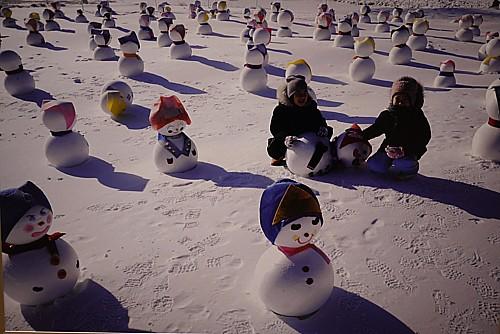 太白雪花祭り