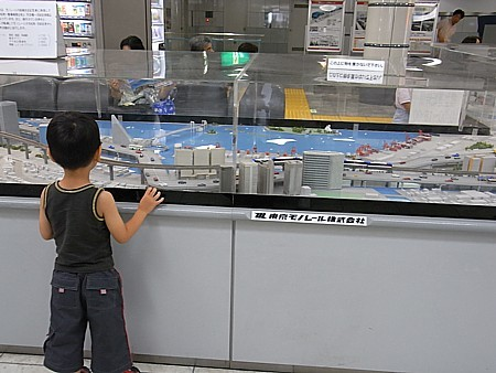 東京モノレールの模型広場