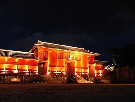 首里城 ライトアップ