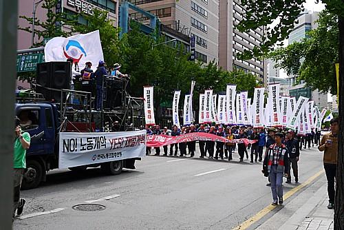 韓国のメーデー