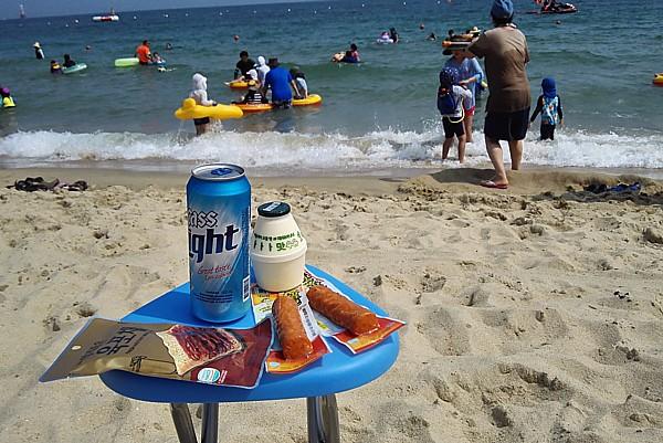 ビールオンザビーチ