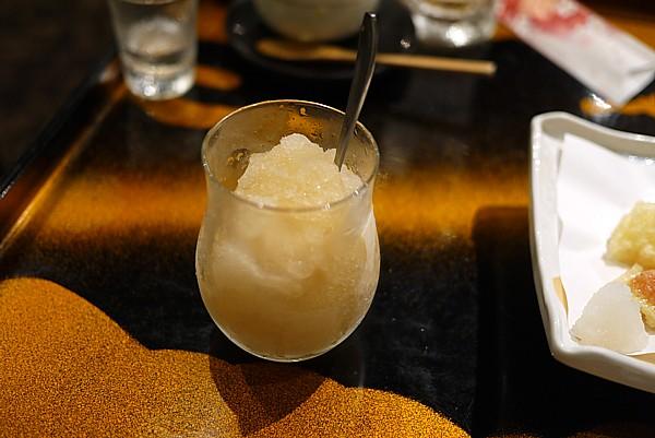 凍らし梅酒