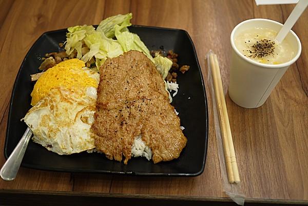 台湾の朝食