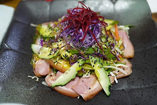 鴨肉サラダ