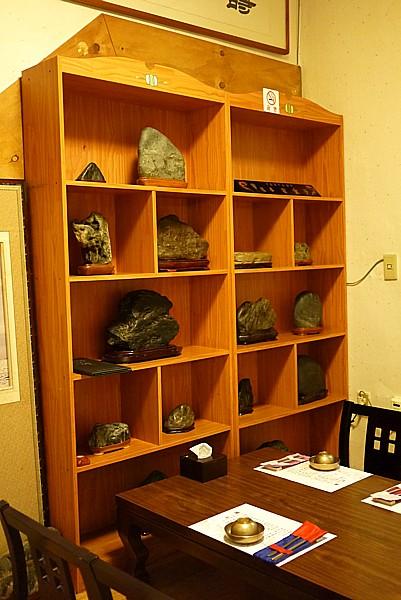石の展示物