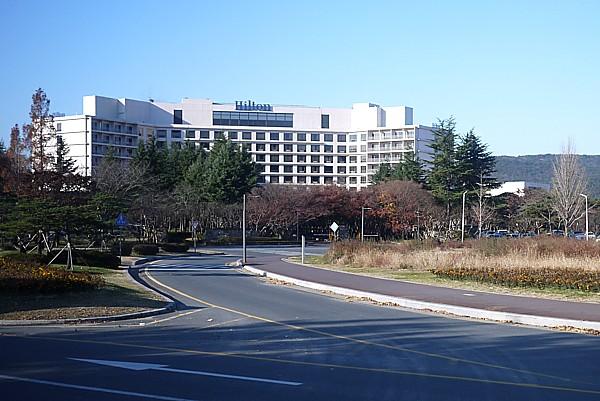 慶州 ヒルトンホテル