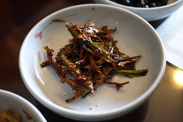 魚の佃煮(ミョルチボクム)