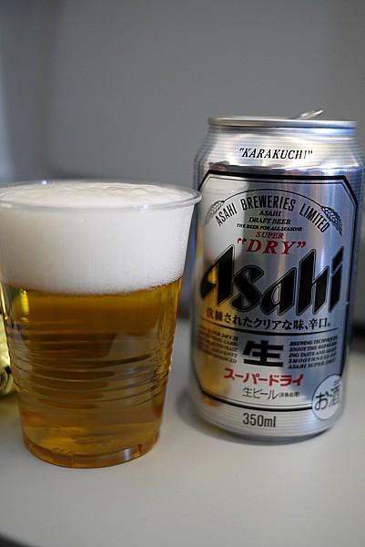 雲の上で飲むビール