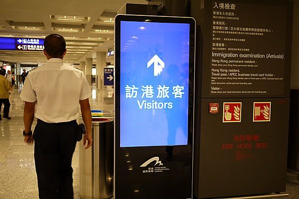 訪港旅客 Visitors