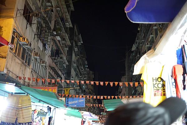 香港の屋台街
