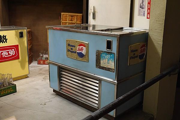 ペプシ冷蔵庫