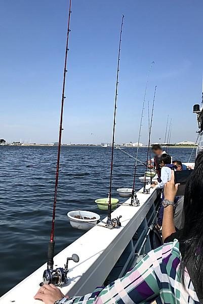 アジ釣り体験
