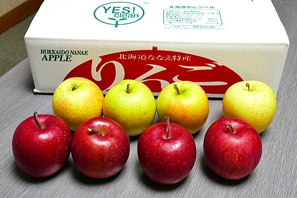 贈答用に作られた甘いリンゴ