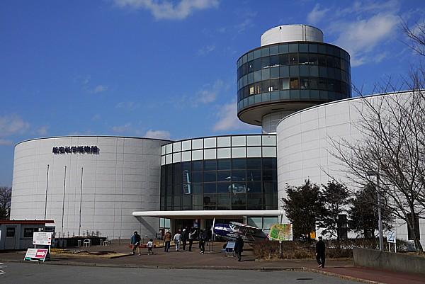 成田にある航空科学博物館