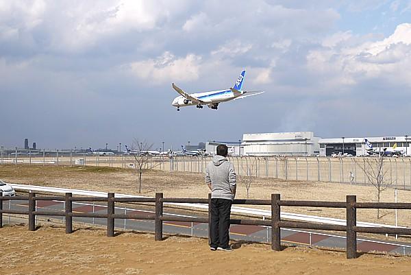 成田空港 新撮影スポット