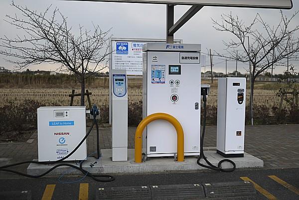 千葉 EV充電スタンドもある