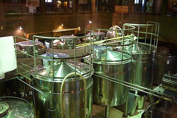 日本酒製造見学ができる