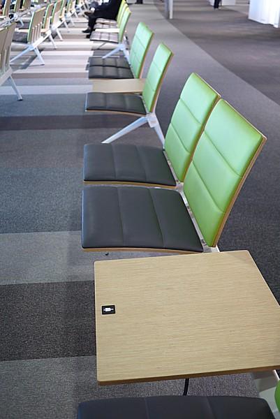 新千歳空港の搭乗待合室