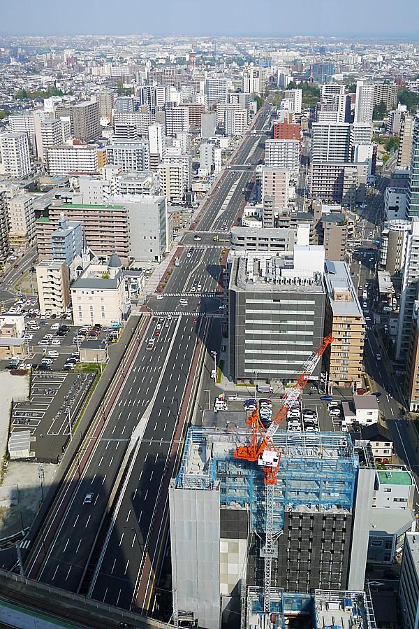 仙台市内を見渡せる