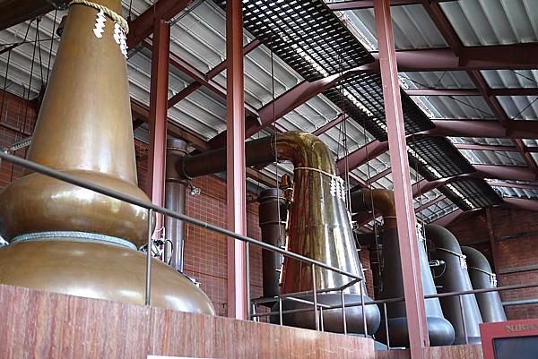 ニッカ ウイスキー仙台工場