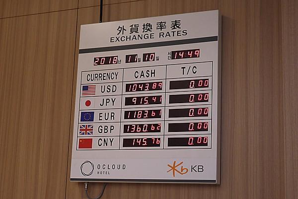 韓国 換金レート