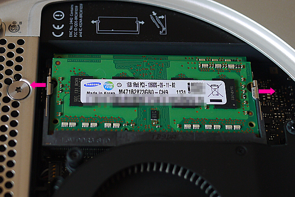 16GB メモリ増設