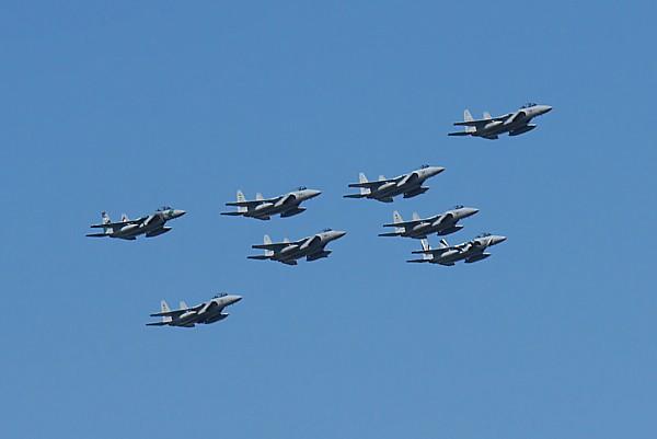 F15編隊飛行