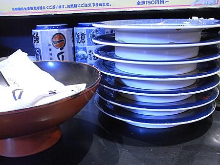 行列のできる回転寿司