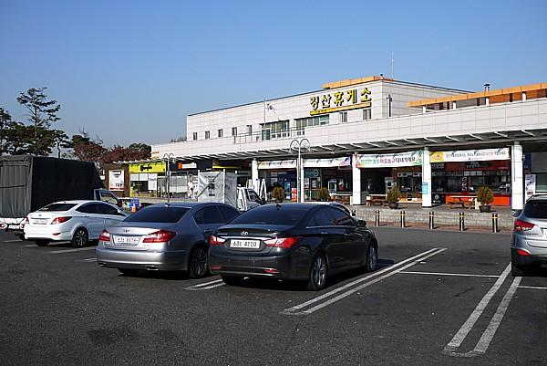 韓国の高速道路サービスエリア