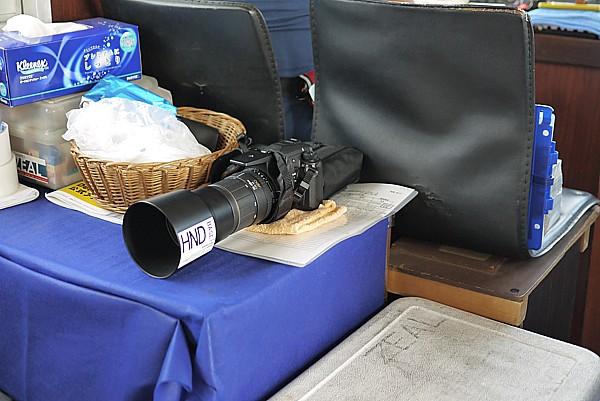 船長のカメラ