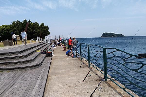 無料の海釣り施設