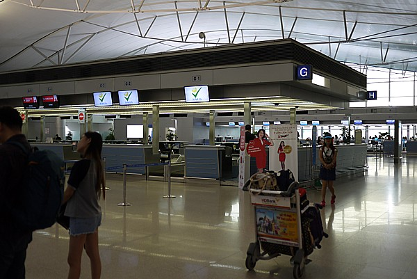 中国南方航空カウンター