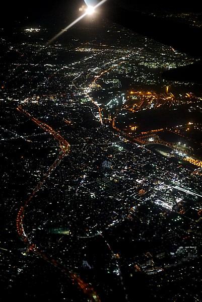 千葉市航空写真夜景