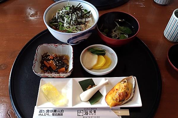 サンマ漬け丼定食