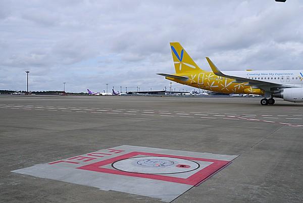 成田空港で出来事