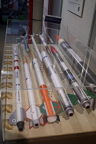 小形ロケット開発の展示がすごい