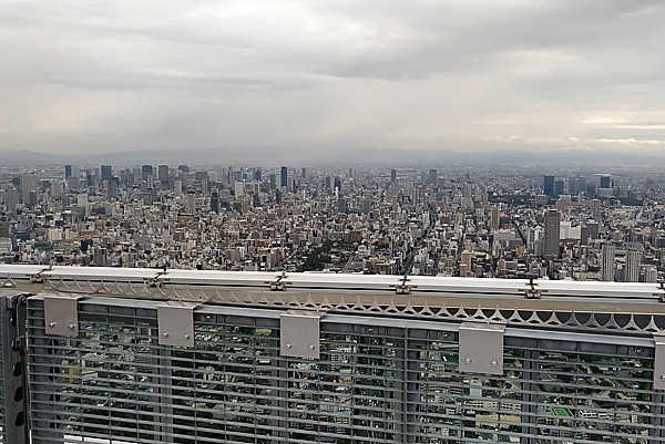 地上300mからの眺め