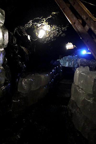 ブロック状の氷