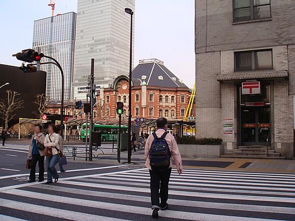 東京駅補修前