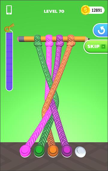 Tangle Master 3D 無料アプリ