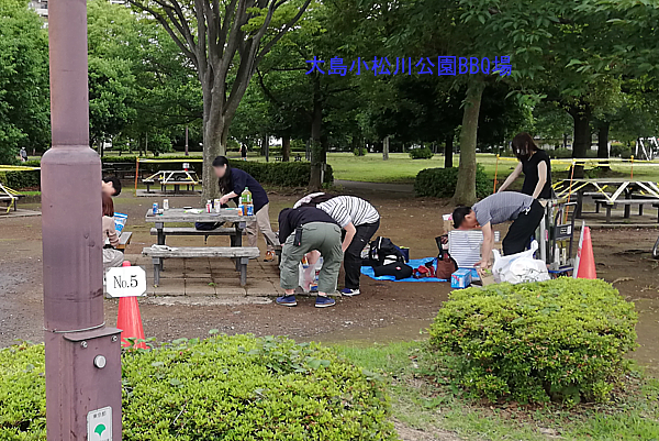 大島小松川公園バーベキュー場